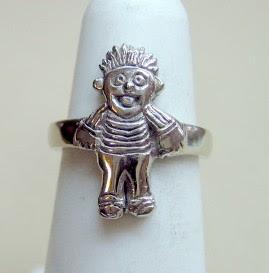 Custom made 14 karat white gold ring by Payne's Custom Jewelry