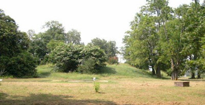 Native American mound that is part of the Carson Complex in Mississippi
