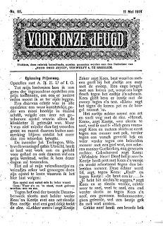 Deel 1 van het opstel (Het Centrum, 11 mei 1918)