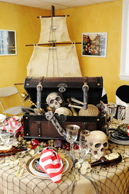 setting the mood table 5 pirate party. Black Bedroom Furniture Sets. Home Design Ideas