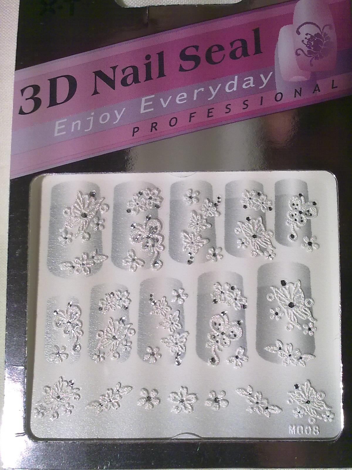 Regalitos baratos stickers 3d para manicure ofertas 2x1 for Stickers pared baratos