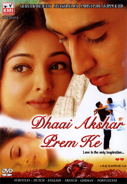 Dhaai Akshar Prem Ke (2000) Movie Poster