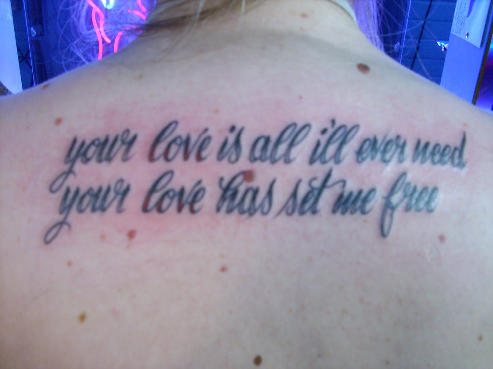 sort of a woman tattoos