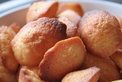 La recette des Madeleines à la Fleur d'Oranger