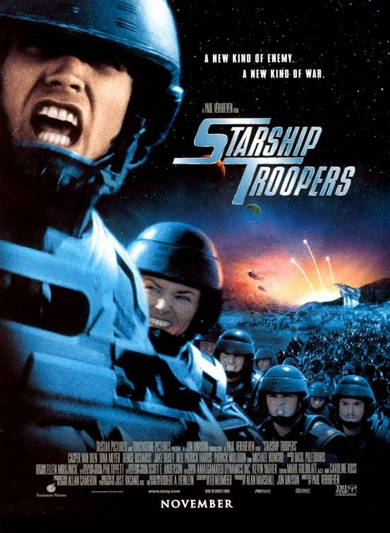 Starship Troopers 2 Bugs. with giant alien ugs in a