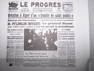 discours pflimlin 1958