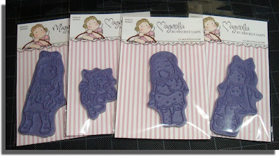First 4 Magnolia stamps