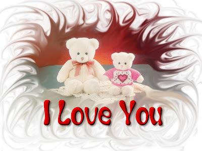 Medvjedići - I LOVE YOU download besplatne pozadine ljubavne slike