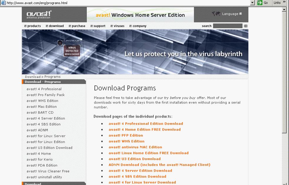 avast linux home edition