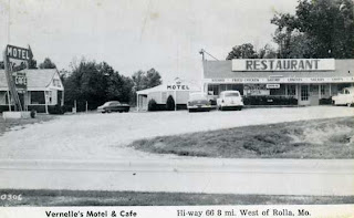 Vernelle's Motel & Cafe before the