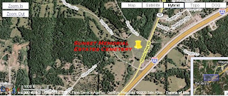 Click picture for larger view of Sunset Memorial Estates Cemetery's location in Pulaski County, Missouri.