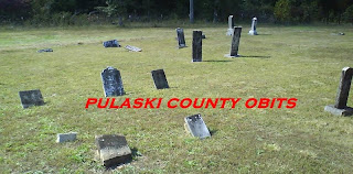 The older section of Elm Grove Cemetery in Camden County, Missouri.  Photo by Pulaski County Obits