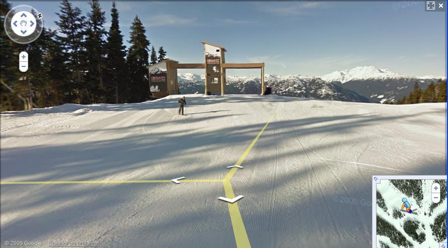 Google ski view