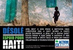 Désolé Espoir pour Haiti