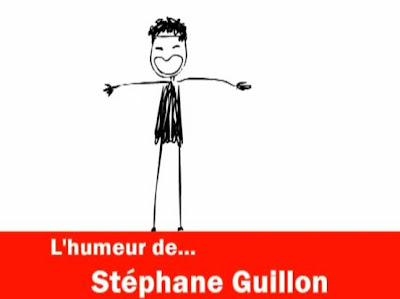 Stephane Guillon se moque du nouveau site de l'UMP