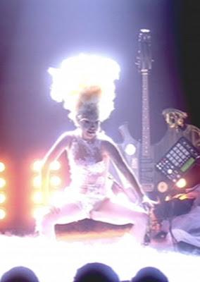 Lady Gaga aux Brit Awards 2010 (photos)