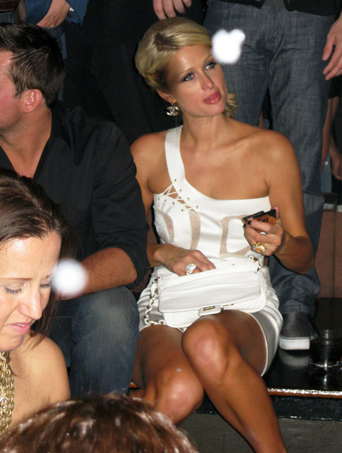 Paris Hilton et son string