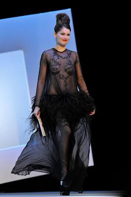 Laetitia Casta nue robe aux César