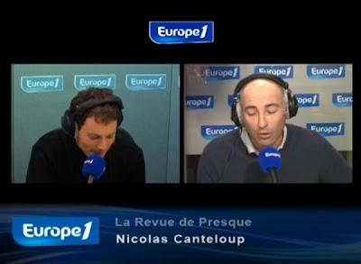 Revue de presque Nicolas Canteloup 13 avril 2010