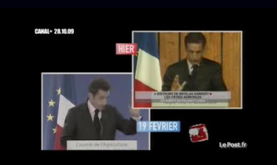 Nicolas Sarkozy discours Petit Journal Yann Barthes