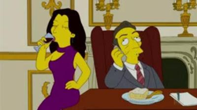 Nicolas Sarkozy Carla Bruni Simpson