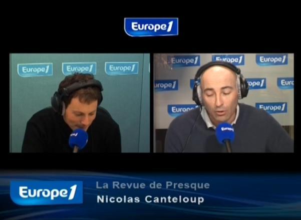 écouter Revue de presque 8 septembre 2010 Canteloup Europe 1