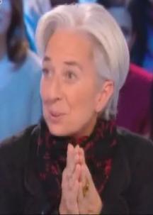 Lapsus Christine Lagarde Grand Journal