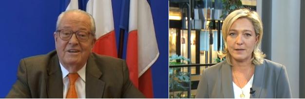 Voeux 2011 Le Pen