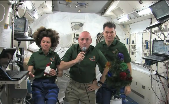 ISS joyeux noel