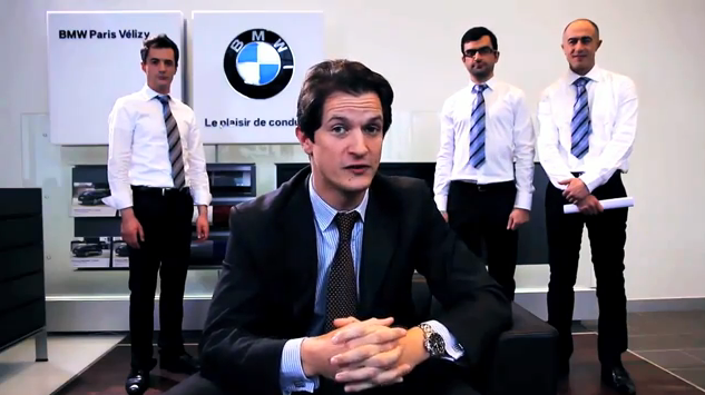 Voeux 2011 BMW Paris