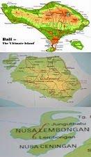 Lembongan - Bali Map