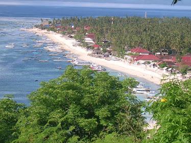 Jungut Batu Beach, Lembongan Island