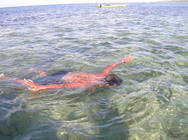 Snorkling...