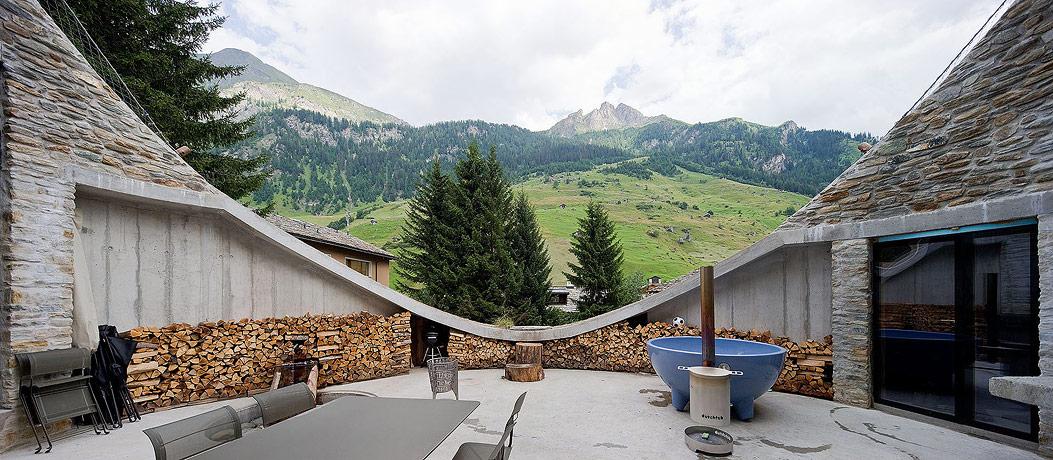 oko design blog villa vals by bjarne mastenbroek. Black Bedroom Furniture Sets. Home Design Ideas