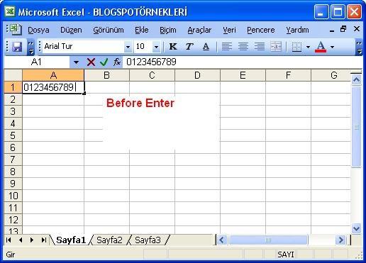 Microsoft Office Excel 174 Kod Kılavuzu Spelling Pattern On