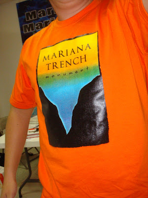 Mariana trench t shirt
