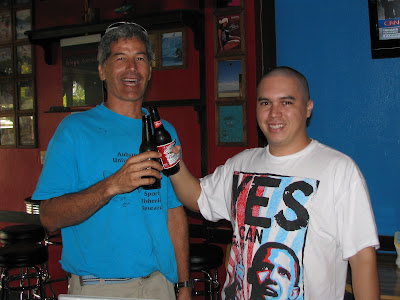 Ken Kramer and Angelo Villagomez at Hawaii Bar