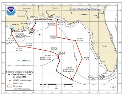 gulf of mexico fishing closure
