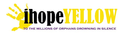 ihopeYELLOW: to the orphans drowning in silence