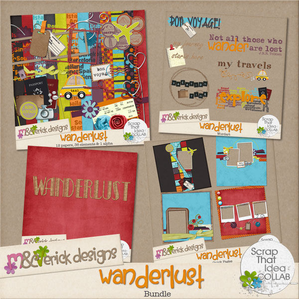 wanderlust word artWanderlust Word
