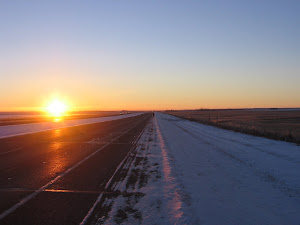 A new day, leaving Nanton