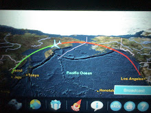 Interactive Screen, &#39;Flight Path&#39;