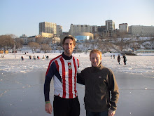 Me & Justin (on ice)