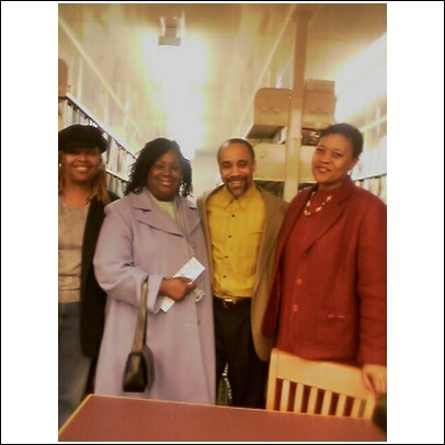Sheila, Linda, Author Nathan McCall and Ronette