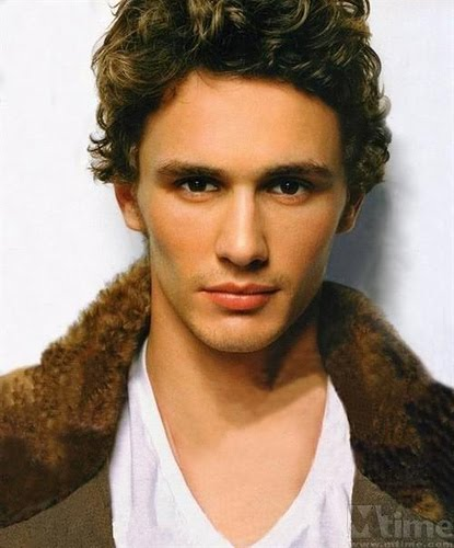 James Franco, looking all brown-eyed and sexy