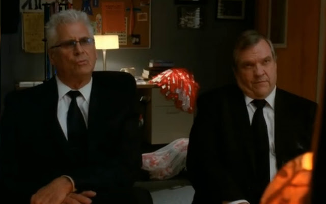 Meatloaf and Barry Bostwick on the Glee Rocky Horror Show