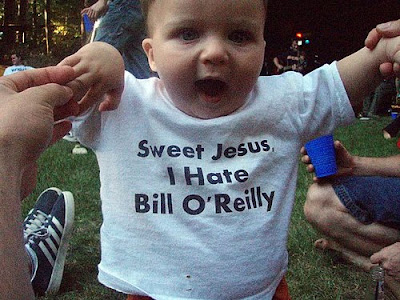 smart baby in cool T-shirt