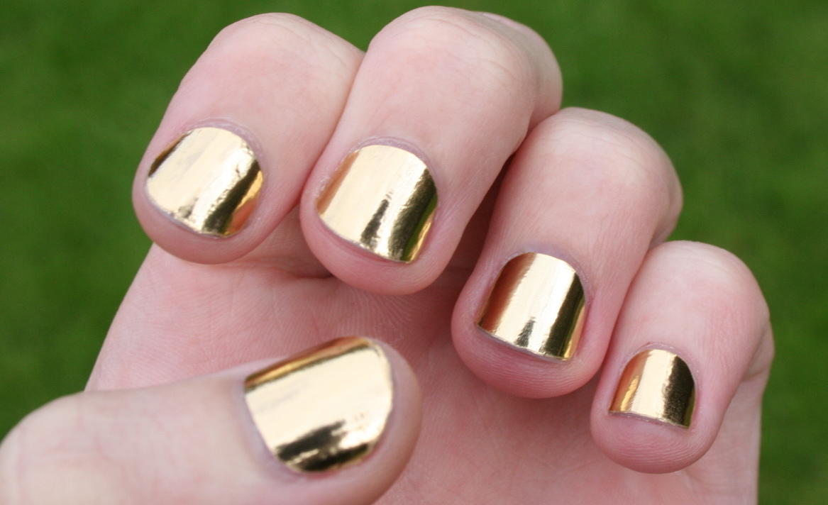 Gold Nail Polish Designs | Nail Designs, Hair Styles, Tattoos and ...