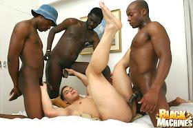 matones negros gay bang