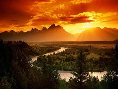 paisaje de amor